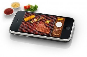 Barbecue. On your iPhone. Yes, you heard me right.