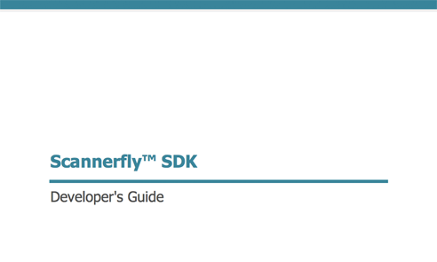 Scannerfly SDK Developer's Guide